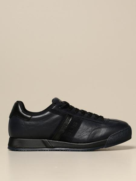 Paciotti 4Us men: Paciotti 4US sneakers in leather and suede