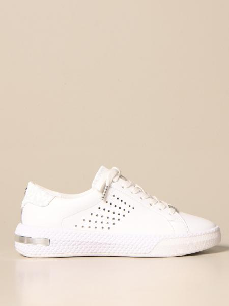 Michael Kors women: Michael Michael Kors sneakers in leather with holes