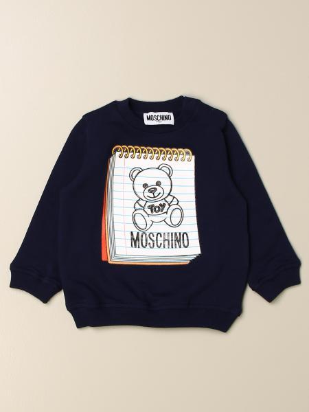 Moschino kids: Moschino Baby sweatshirt with Teddy logo