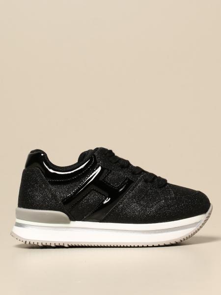 Hogan lurex platform sneakers
