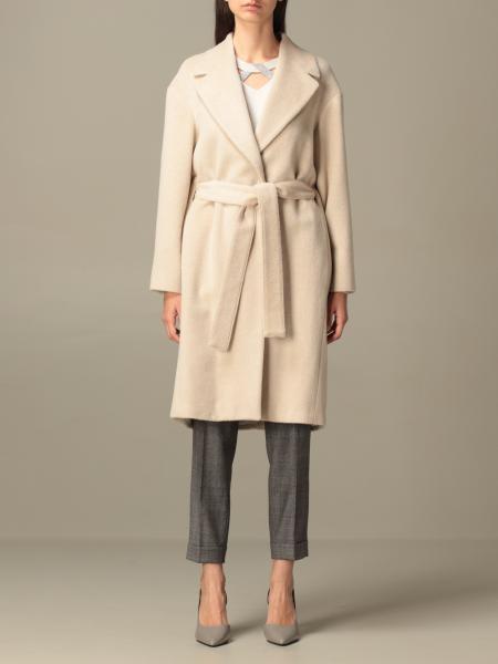 Fabiana Filippi 羊驼毛和羊毛浴袍式大衣