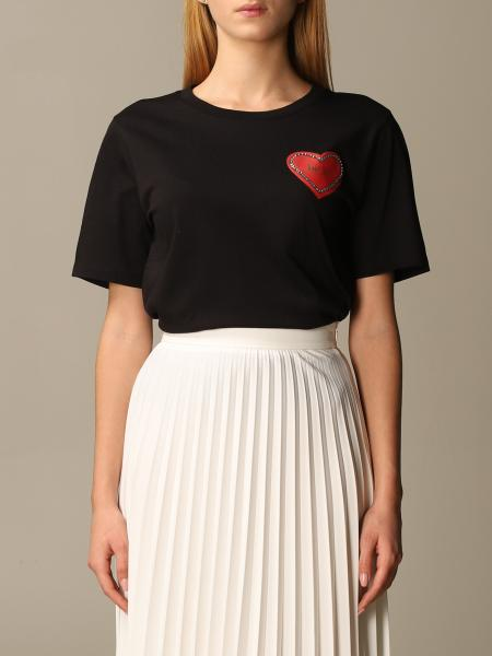 Blumarine: Be Bluemarine t-shirt with heart