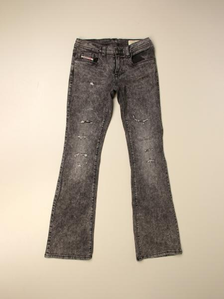 Jeans Diesel in denim a zampa