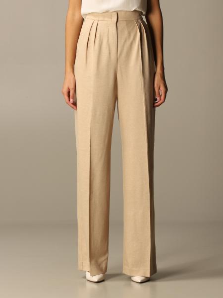Max Mara women: Max Mara wide high-waisted trousers