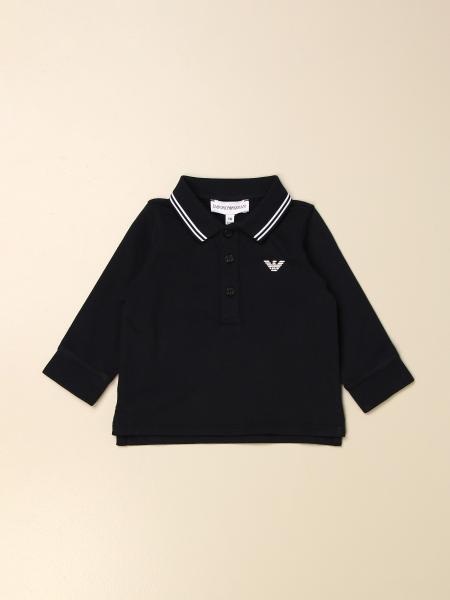 Polo Emporio Armani in cotone con logo