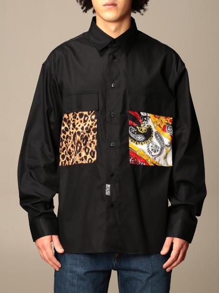 Versace Jeans Couture shirt with patterned patches