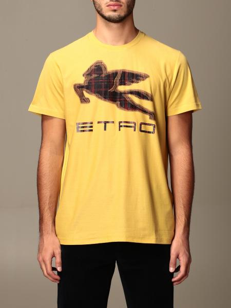 Versace cotton T-shirt with Pegasus logo