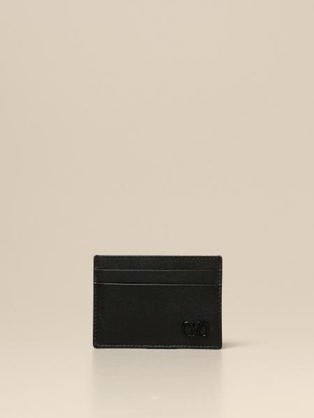 Valentino Garavani credit card holder with VLogo