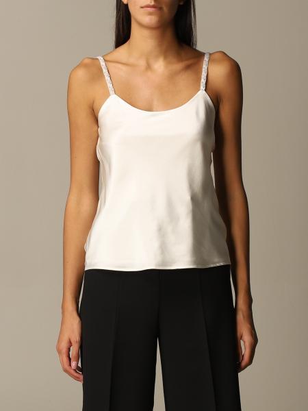 Max Mara women: Max Mara basic silk top