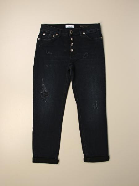 Jeans Dondup in denim con rotture
