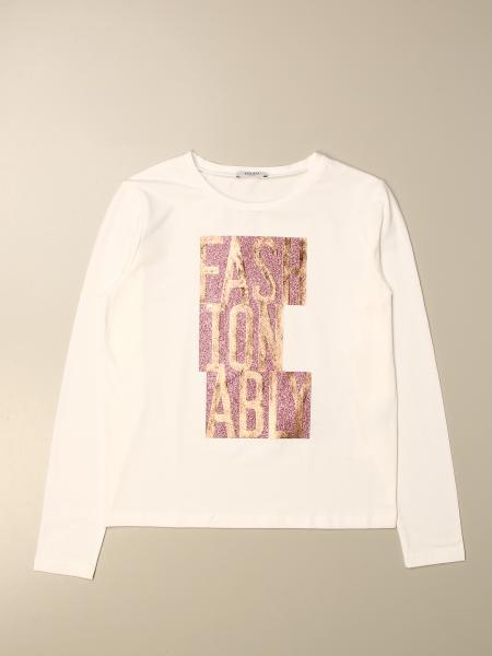 Liu Jo kids: Liu Jo T-shirt with jewel writing