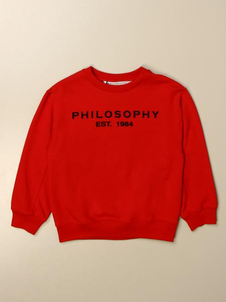 Philosophy Di Lorenzo Serafini crewneck sweatshirt with logo