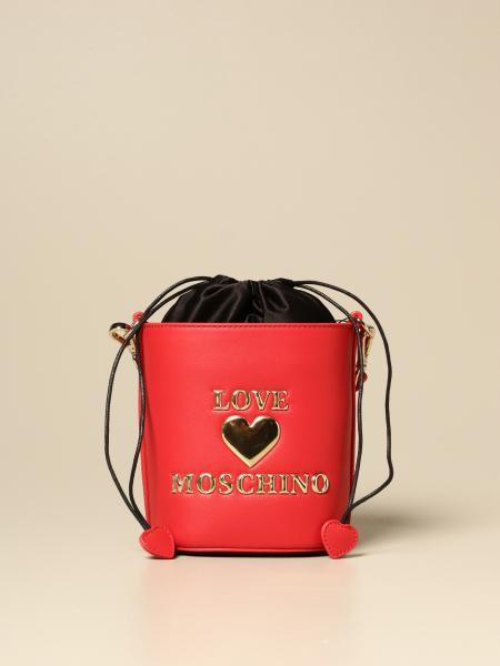 Schultertasche damen Love Moschino