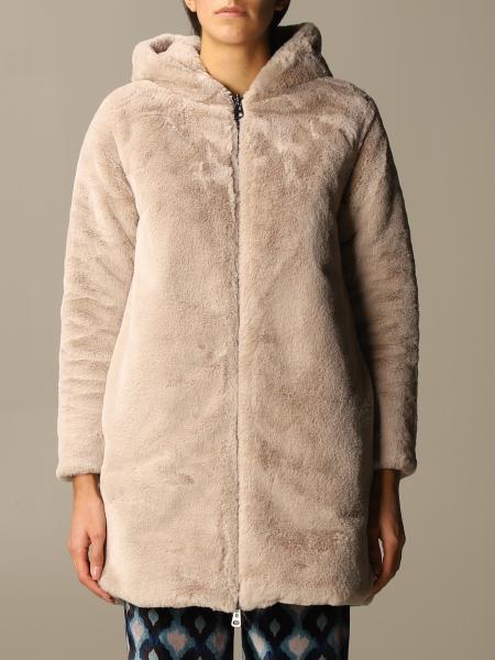 Maliparmi: Giubbotto Maliparmi reversibile in nylon e pelliccia
