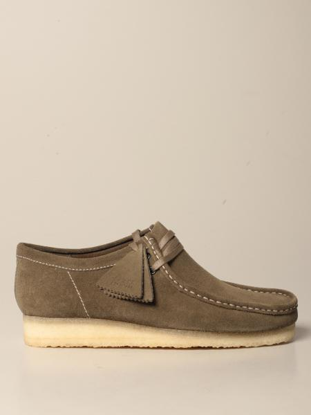 Wallabee Clarks moccasin in suede