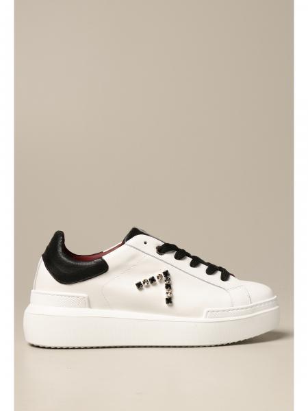 Sneakers Ed Parrish in pelle