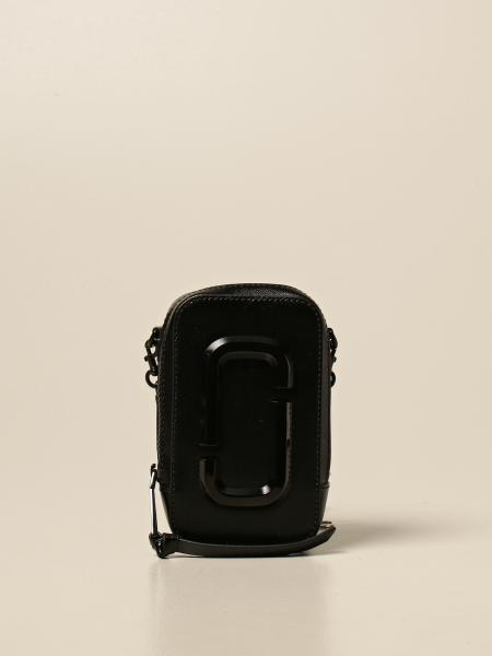 Marc Jacobs: Borsa The Hot Shot Marc Jacobs in pelle saffiano lucida