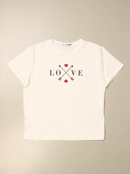 Liu Jo kids: Liu Jo T-shirt with love print