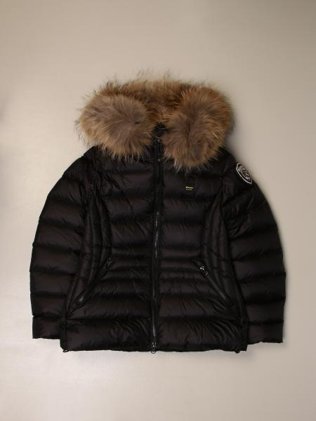 Blauer down jacket with hood and zip