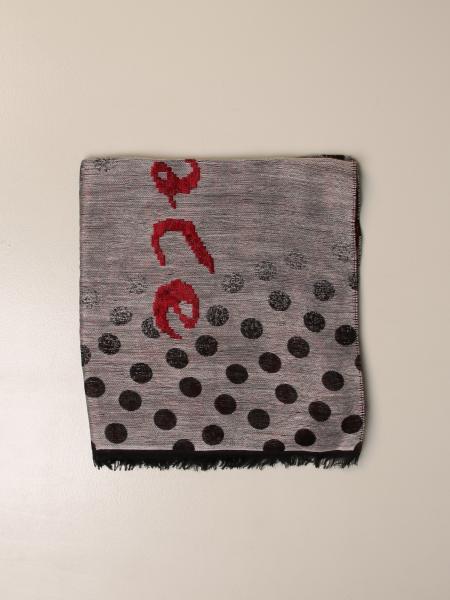 Manila Grace polka dot scarf