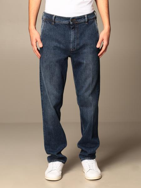 Roy Rogers: Roy Rogers wide jeans in used denim