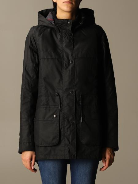 Barbour: Barbour jacket with hood