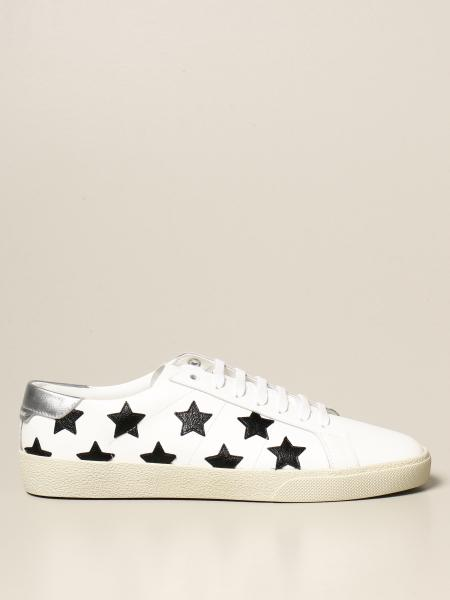 Saint Laurent: Saint Laurent sneakers in leather with stars