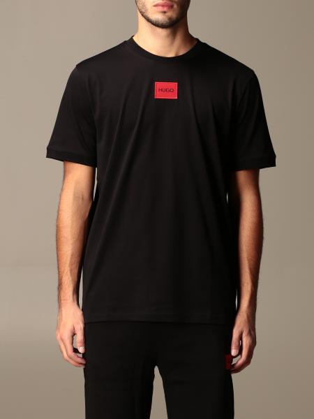 Hugo Boss: Hugo cotton t-shirt with logo