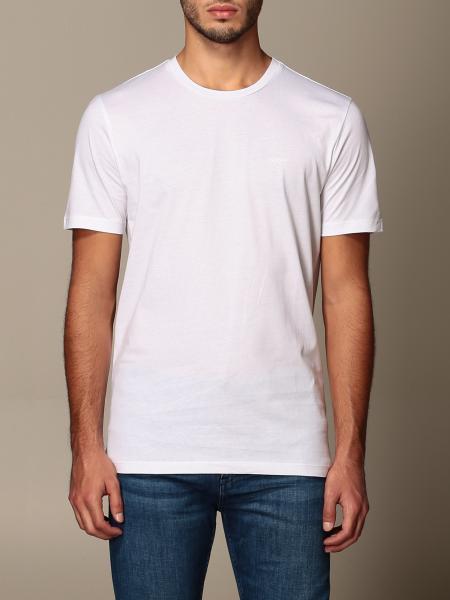 Hugo Boss: T-shirt Boss in cotone con logo