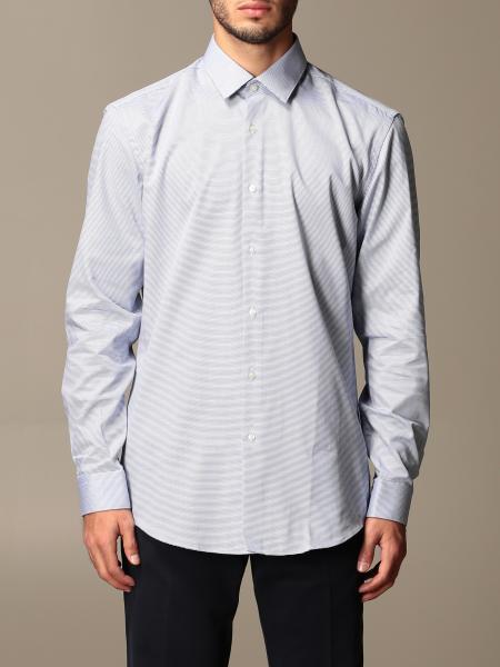 Hugo Boss: Boss basic shirt with Italian collar