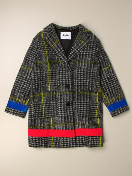 Manteau enfant Msgm Kids