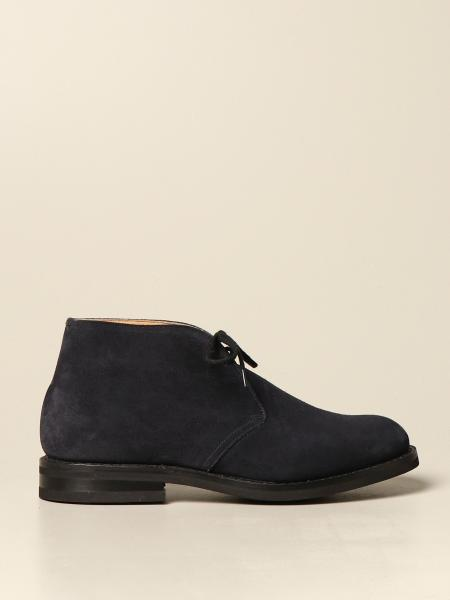 Ryder Church's ankle boot in beaver suede