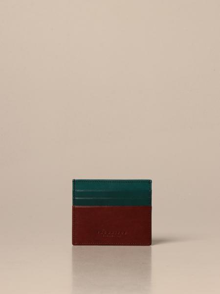 The Bridge card holder in leather