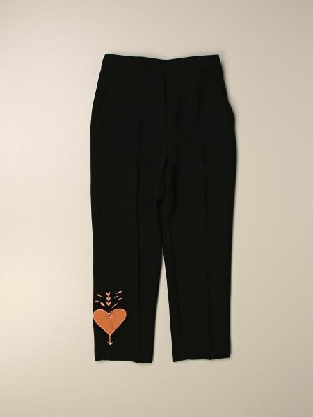 Elisabetta Franchi classic trousers with heart