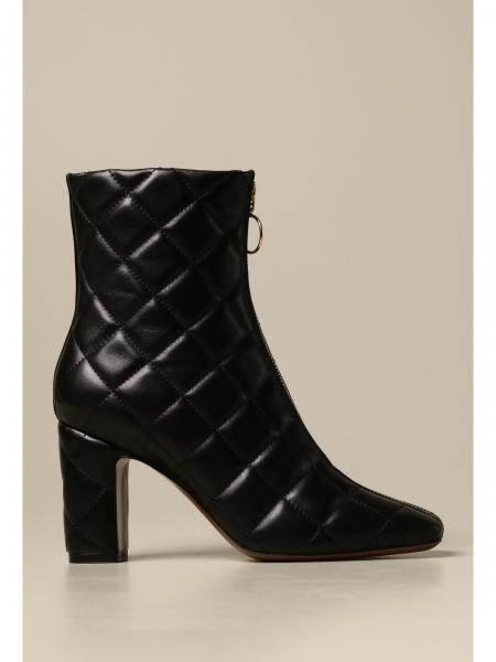 L'autre Chose ankle boot in quilted nappa