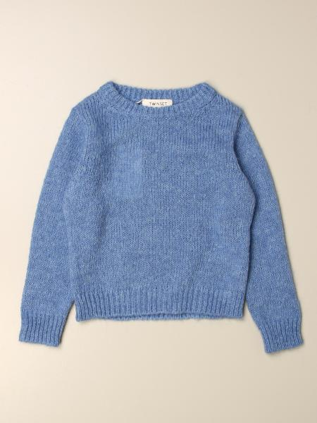 Twinset kids: Twin-set basic pullover in cotton