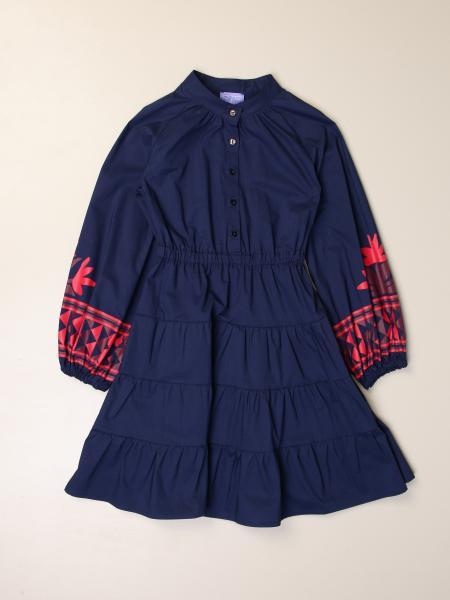 Stella Jean: Stella Jean shirt dress in cotton
