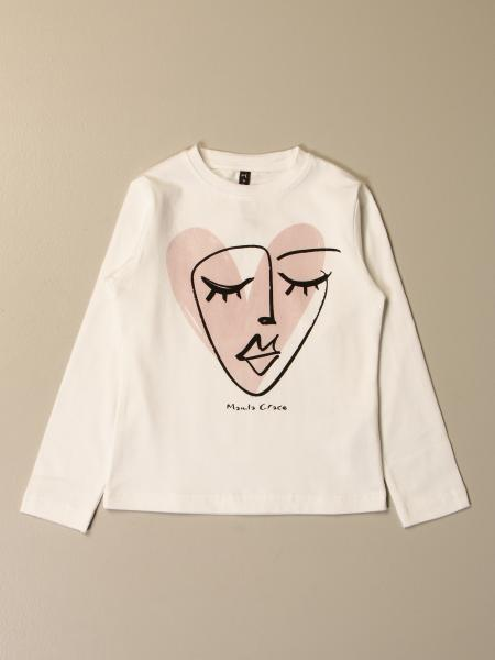 Manila Grace T-shirt with face/heart