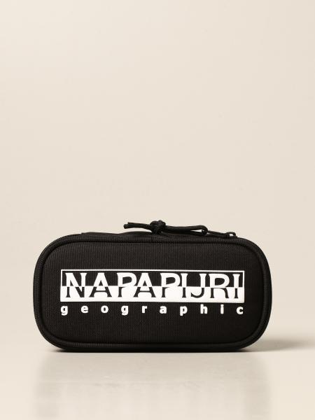 Astuccio Napapijri in tela con logo