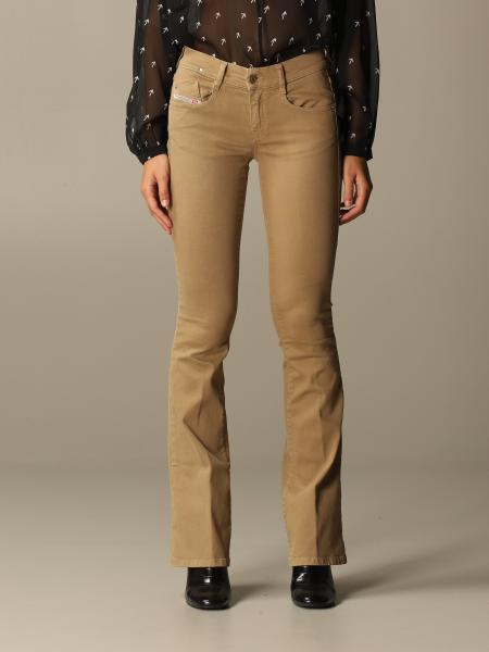 Low waist Diesel jeans with flared bottom