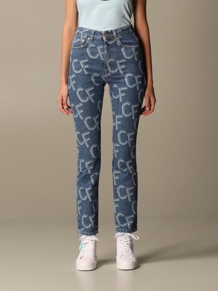 Chiara Ferragni women: Jeans women Chiara Ferragni