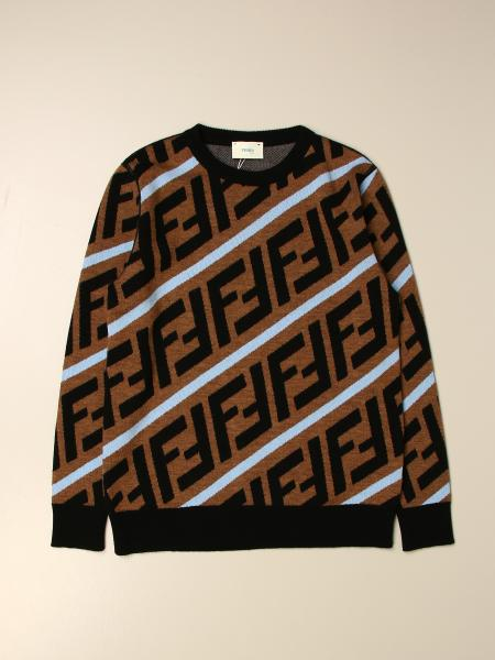 Maglia Fendi con logo FF all over
