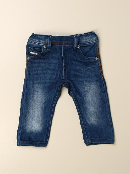 Diesel jeans in used denim with 5 pockets
