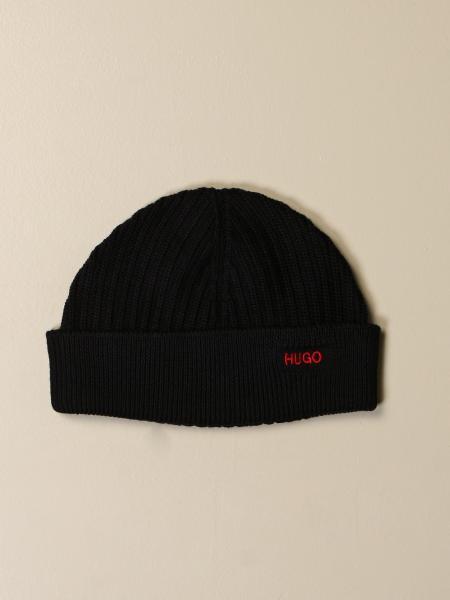 Hugo Boss: Hugo beanie hat with logo