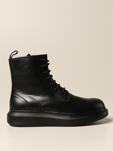 Alexander McQueen leather ankle boot