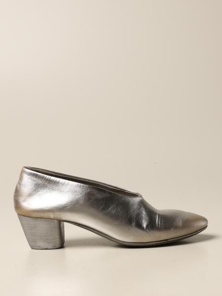 Marsèll: Marsèll Coltello pumps in genuine laminated leather