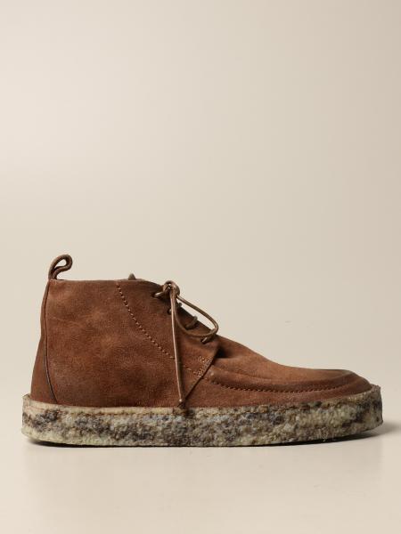 Marsèll Cassapara ankle boot in deerskin suede