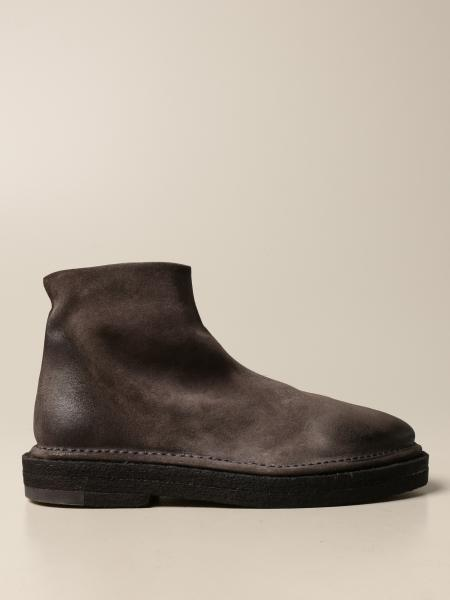 Marsèll Zip Parapa ankle boot in suede