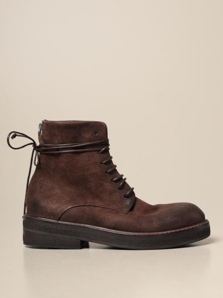 Marsèll Parrucca ankle boot in suede deerskin