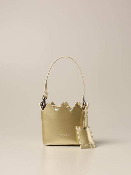 Marsèll mini-crown bag in laminated leather